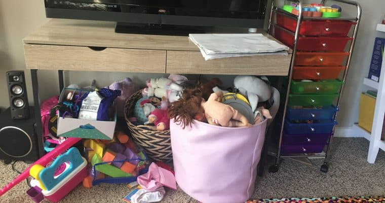Why Getting Rid of Toy Clutter is a Must