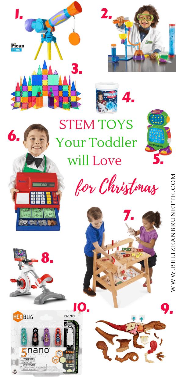 stem gifts for 2 year old