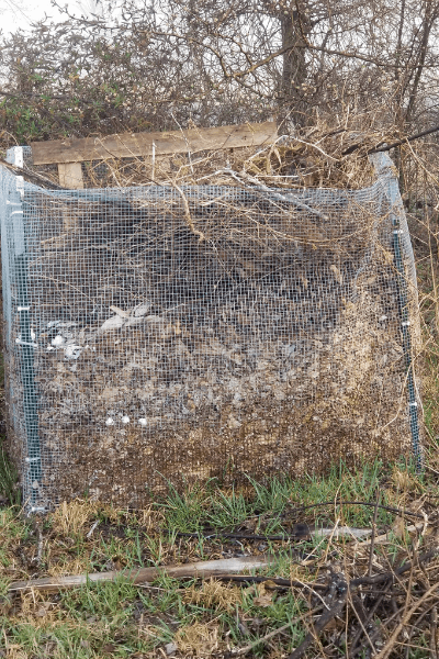 how to layer compost for beginners, easy diy compost bins, homemade compost bins