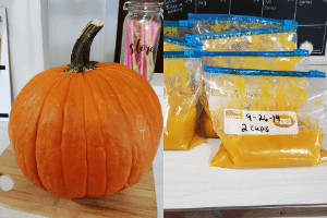 how to make pumpkin puree fresh pumpkin
